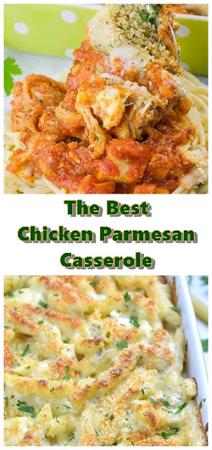 #Chicken #Parmesan #Casserole #chickenrecipes #recipes #dinnerrecipes #easydinnerrecipes