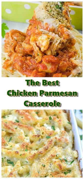 #Chicken #Parmesan #Casserole #chickenrecipes #recipes #dinnerrecipes #easydinnerrecipes
