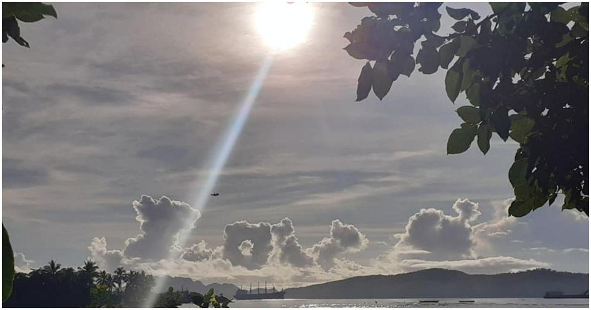 Photos of clouds spelling L-O-V-E go viral