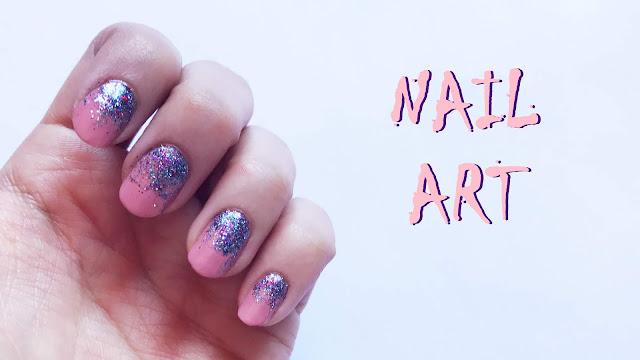 kolay nail art