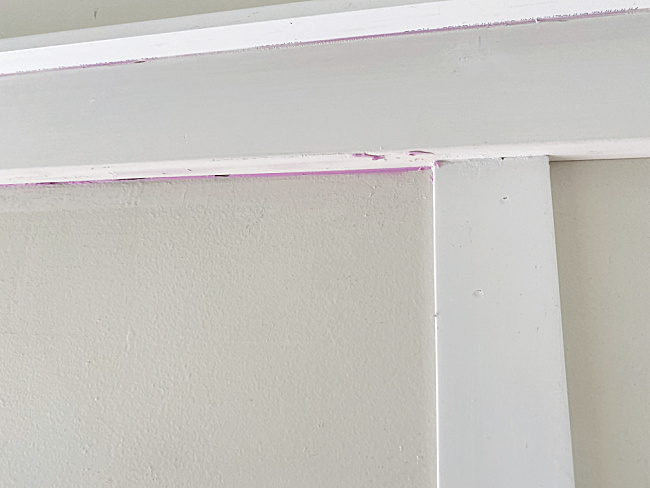board and batten with spackle