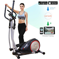 SNODE E20i Elliptical Trainer Machine, features reviewed and compared with E20, compact home elliptical