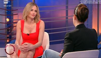 Francesca Fialdini bellissima conduttrice tv da noi a Ruota Libera