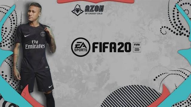 PES 2017 Graphic Menu Azon Theme FIFA 20 Style  Criss7
