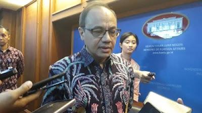 Foto Teuku Faizasyah. Polisi Malaysia Sebut Pelaku Pembuat Lagu Parodi Indonesia Raya WNI, Ini Kata Kemlu.
