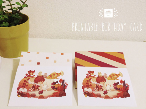 My Owl Barn Printable Birthday Card
