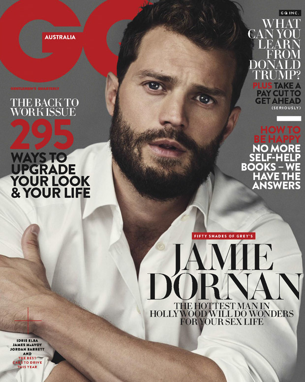 Jamie Dornan by Nino Munoz in GQ Australia February 2017 Cover