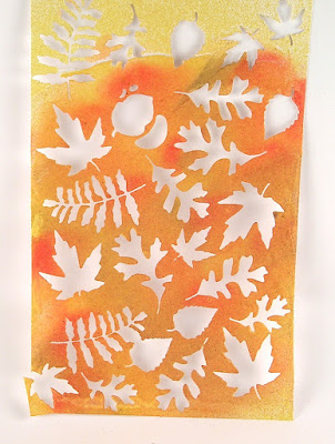 Sizzix Fall Foliage Ranger Distress Stain Sprays for the Funkie Junkie Boutique