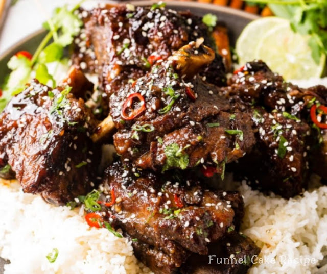Korean Oven Braised Short Ribs