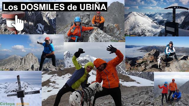 Los picos más altos del Macizo de Ubiña