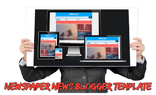 Newspaper - Responsive Blogger Template Free Download