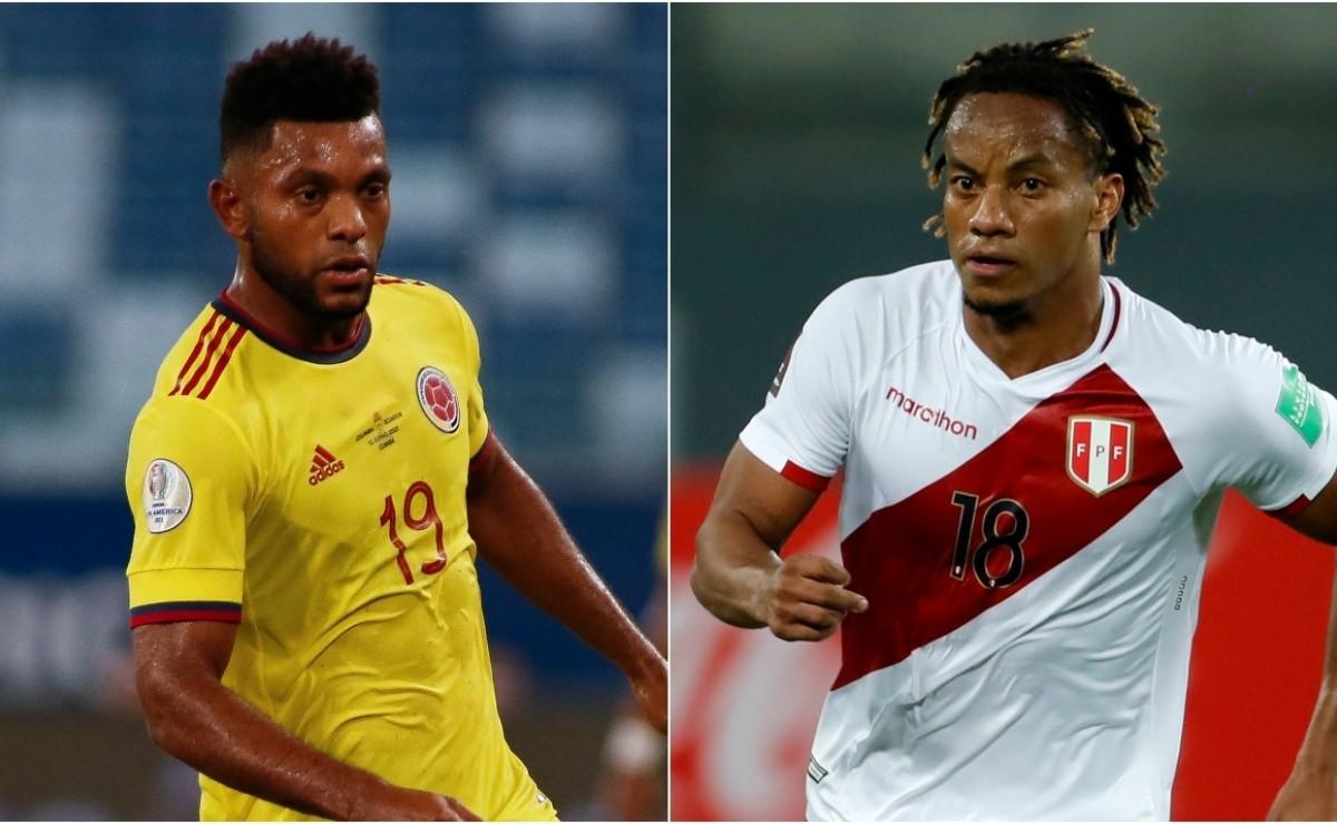 موعد مباراة كولومبيا والبيرو