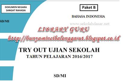 5 Lima Paket Soal Latihan Dan Kunci Jawaban Bahasa Indonesia Kelas 6 Sd Mi Tahun Pelajaran
