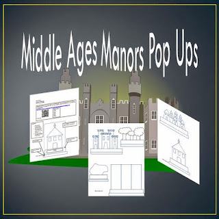 Middle Ages Manors Pop Ups