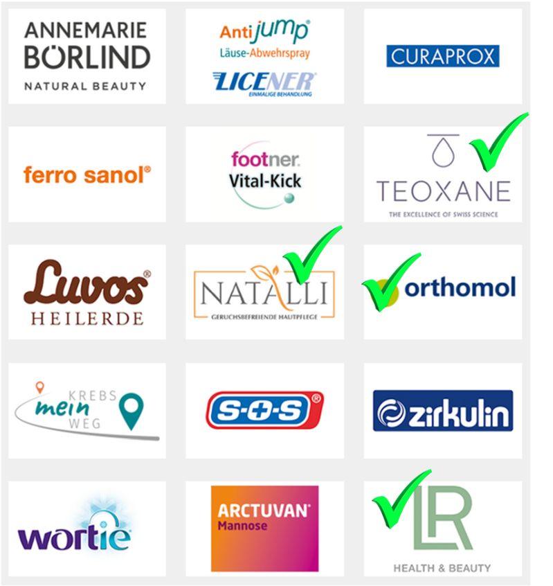Beim Yupik PR-Event vertretene Firmen