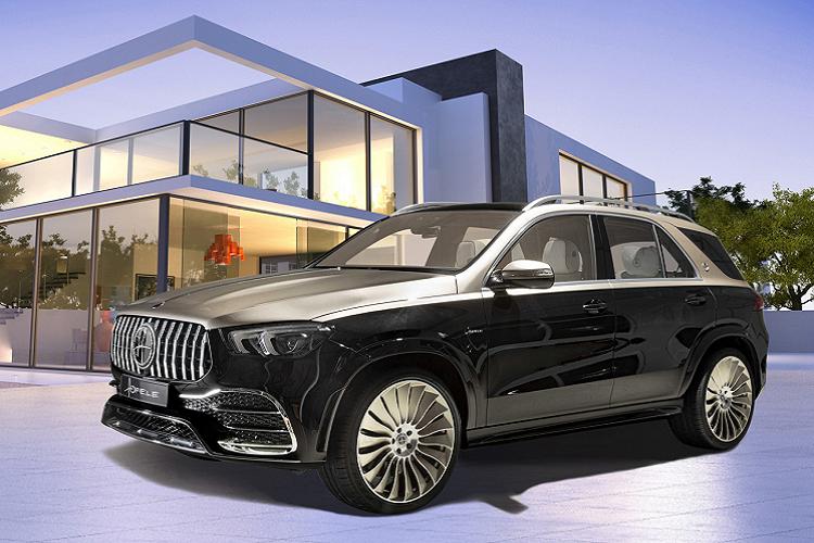 Mercedes-Benz GLE nâng cấp sang chảnh như Mabach nhờ Hofele