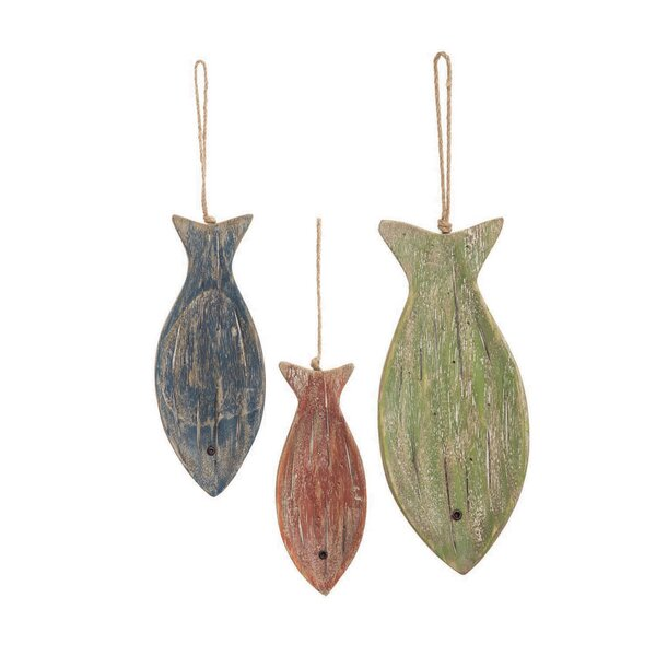 3 Piece Fish Wall Decor Set