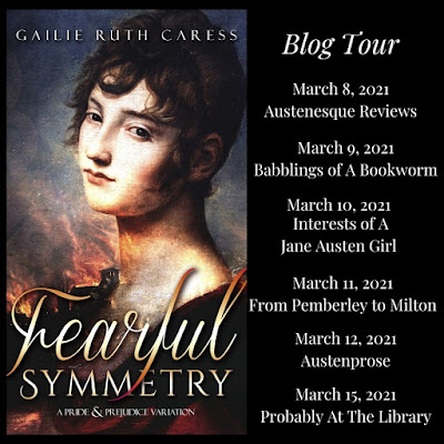 Blog Tour: Fearful Symmetry by Gailie Ruth Caress