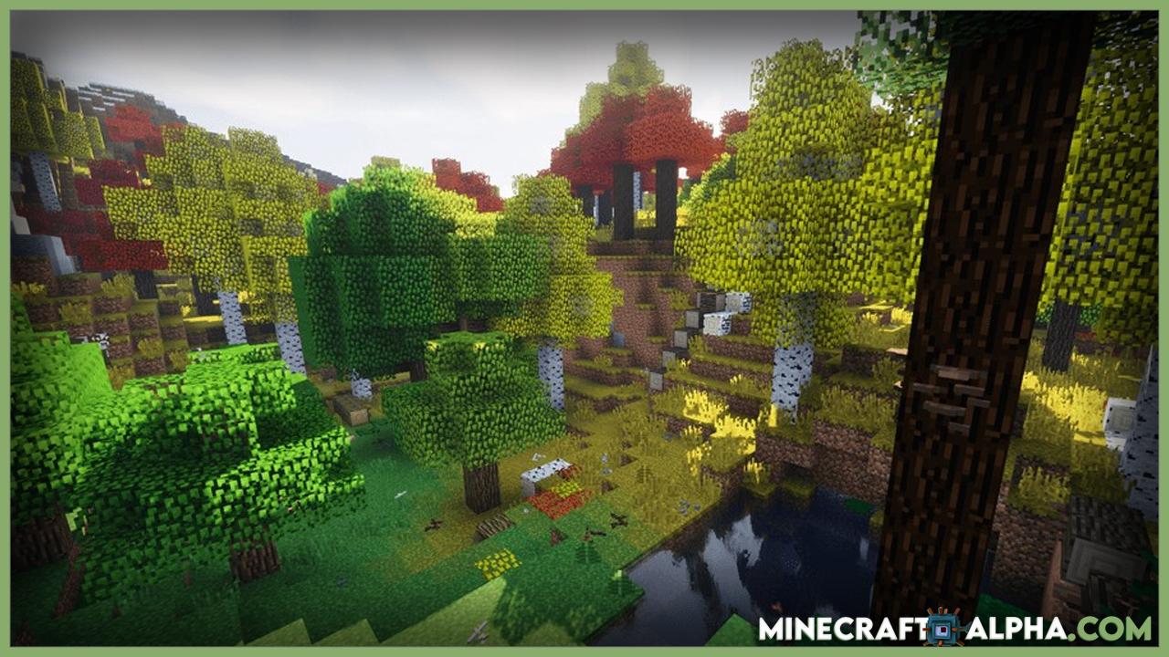 Minecraft Project: Vibrant Journeys Mod Images