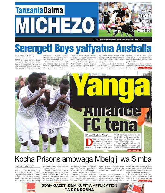 tanzania-daima-dondosha-michezo-magazeti