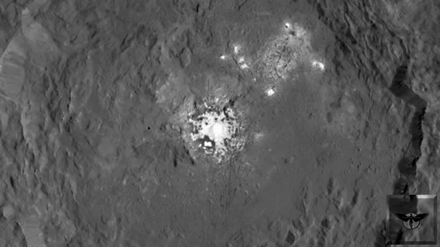 Two-Mile High Tower On The Dwarf Planet Ceres