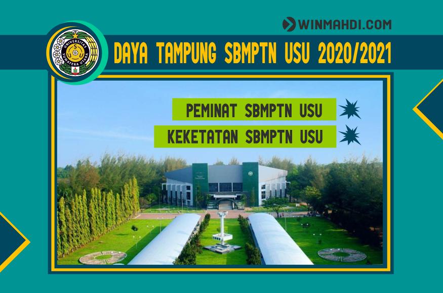 DAYA TAMPUNG SBMPTN USU 2020-2021