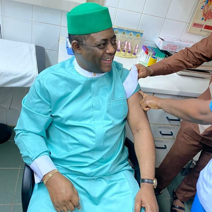 After Calling It Evil, Femi Fani-Kayode Receives COVID-19 Vaccine
