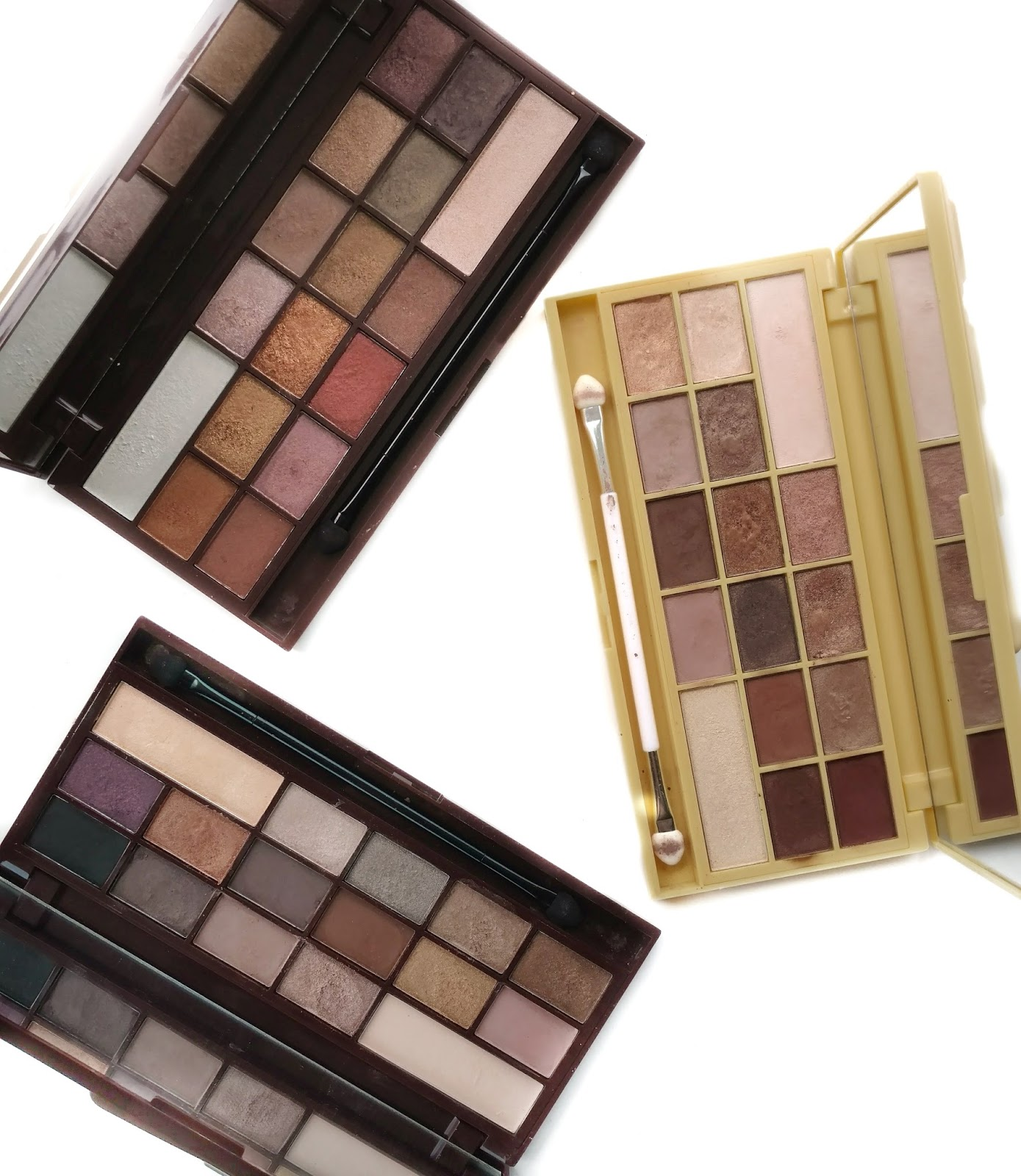 Makeup Revolution Chocolate Palettes