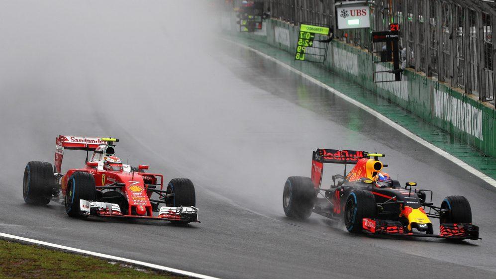 Uma das maiores performances de chuva do mundo - e Max Verstappen tinha apenas 19 anos na época.