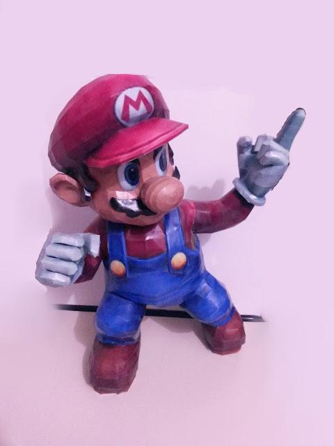 Mario ousado 55cm