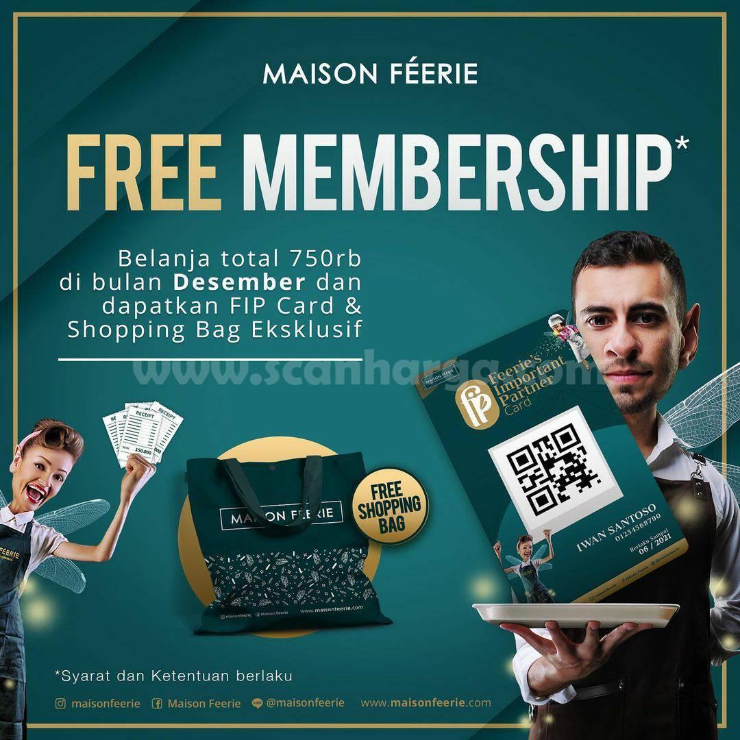 Promo MAISON FEERIE GRATIS FIP Card & Shopping Bag Eksklusif