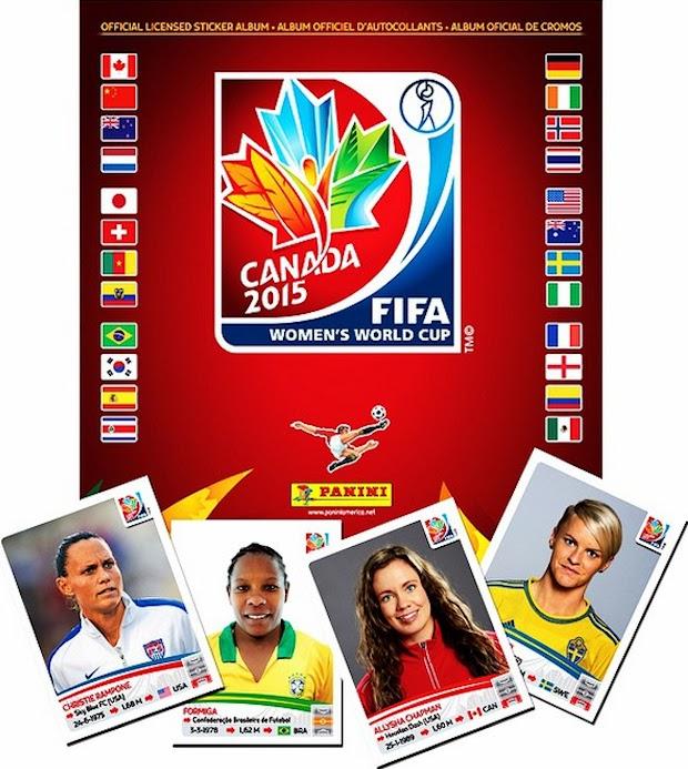 983b5f673e5 Football Cartophilic Info Exchange  Panini - 2015 FIFA Women s World ...