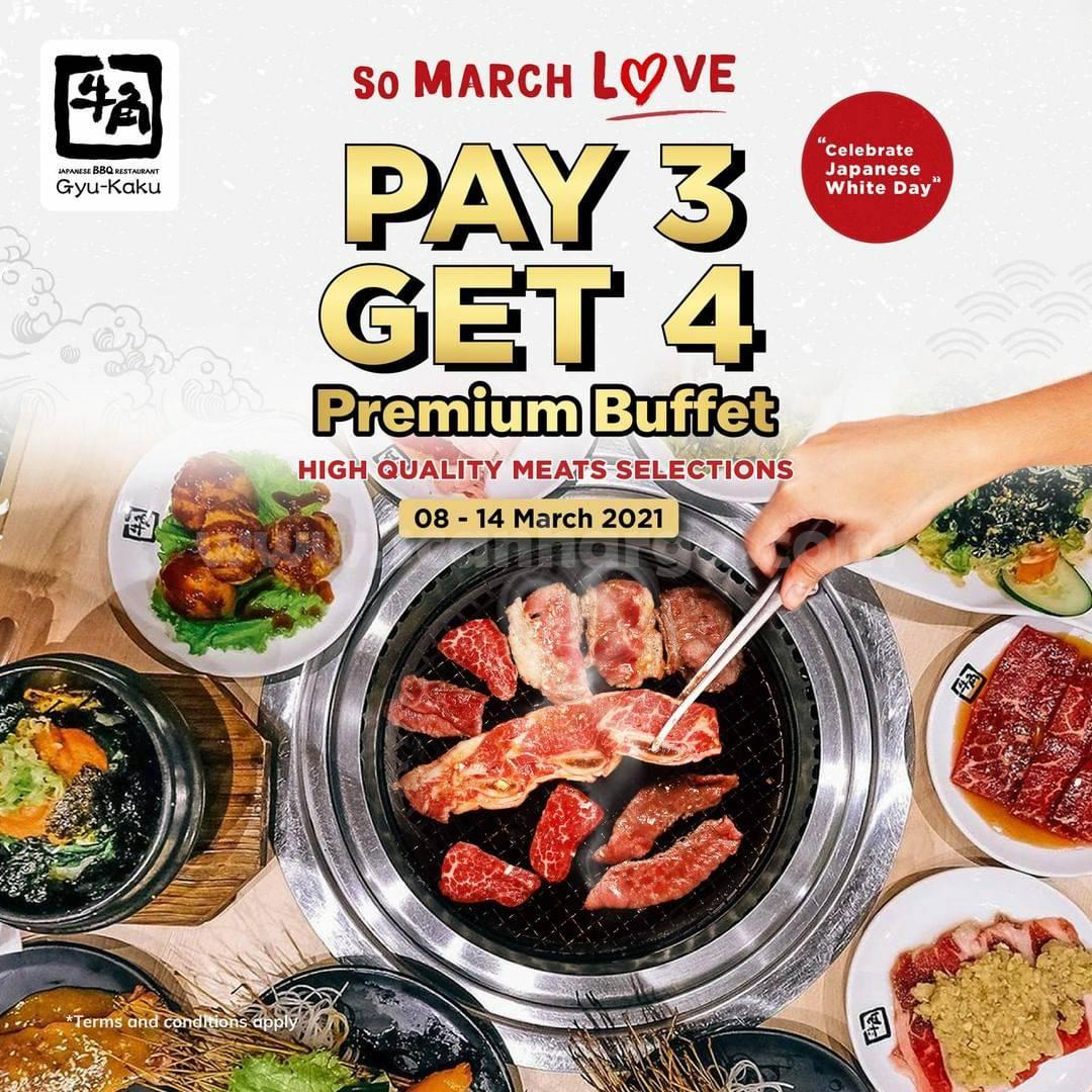 Gyu Kaku Promo Double Date! Pay 3 Get 4 Premium Buffet