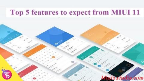 Miui 11 for Redmi note 5 pro | Redmi note 5 pro miui 11 update, miui 11, Miui 11 features, Miui 11 release date