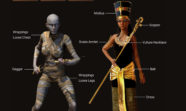 Iclone Avatar | Legend of Pharaoh