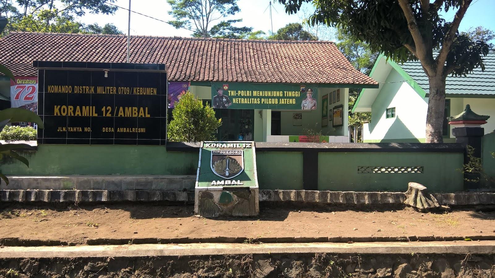 Kantor Koramil 12 Ambal Kebumen