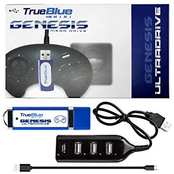 pack trueblue megadrive mini