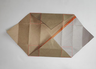 Make a paper box by hand