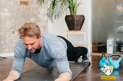 The plank exercise is a great way to build endurance in both your abs and back, as well as stabilizing your muscles
