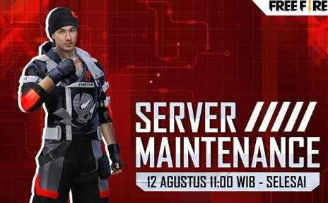 Maintenance Server Free Fire 12 Agustus 2020