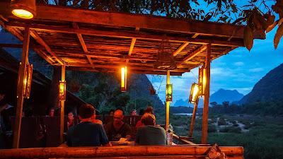 Riverside Restaurant in Muang Ngoi Neua