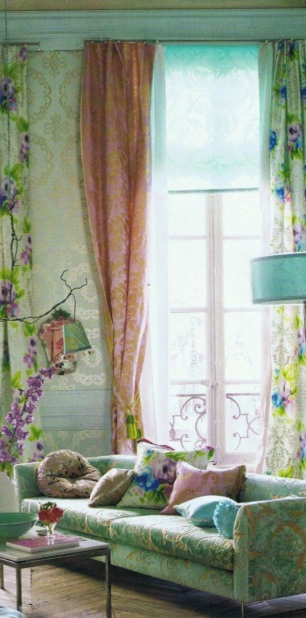 Arredamento provenzale tende soggiorno provenzali for Arredamento soggiorno stile provenzale