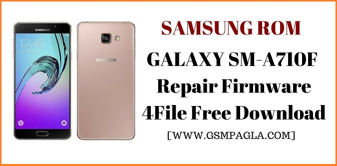 A7 2016 Repair Firmware 4File Free Download By GsmPagla