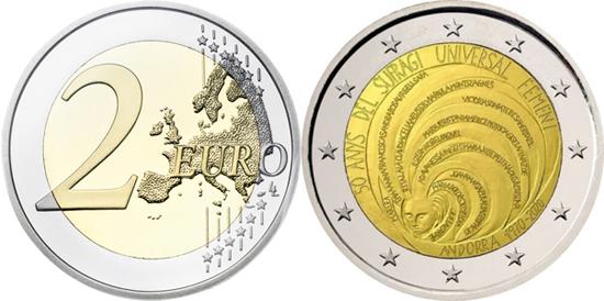 Andorra 2 euro 2020 - Universal Female Suffrage