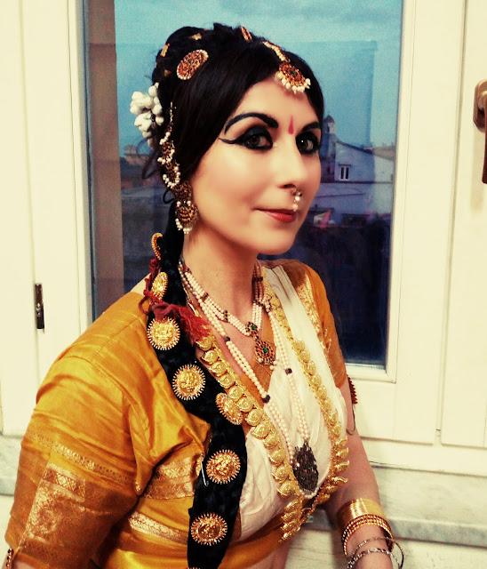 Danza indiana Bharata Natyam Ambasciata dell'India Roma