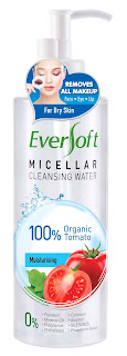 EVERSOFT™ TOMATO MICELLAR CLEANSING WATER