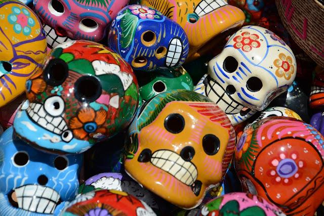 Oorsprong van de Mexicaanse schedels