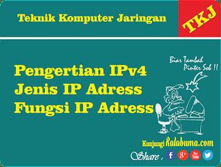 Pengertian dan Fungsi IPv4 dalam jaringan komputer