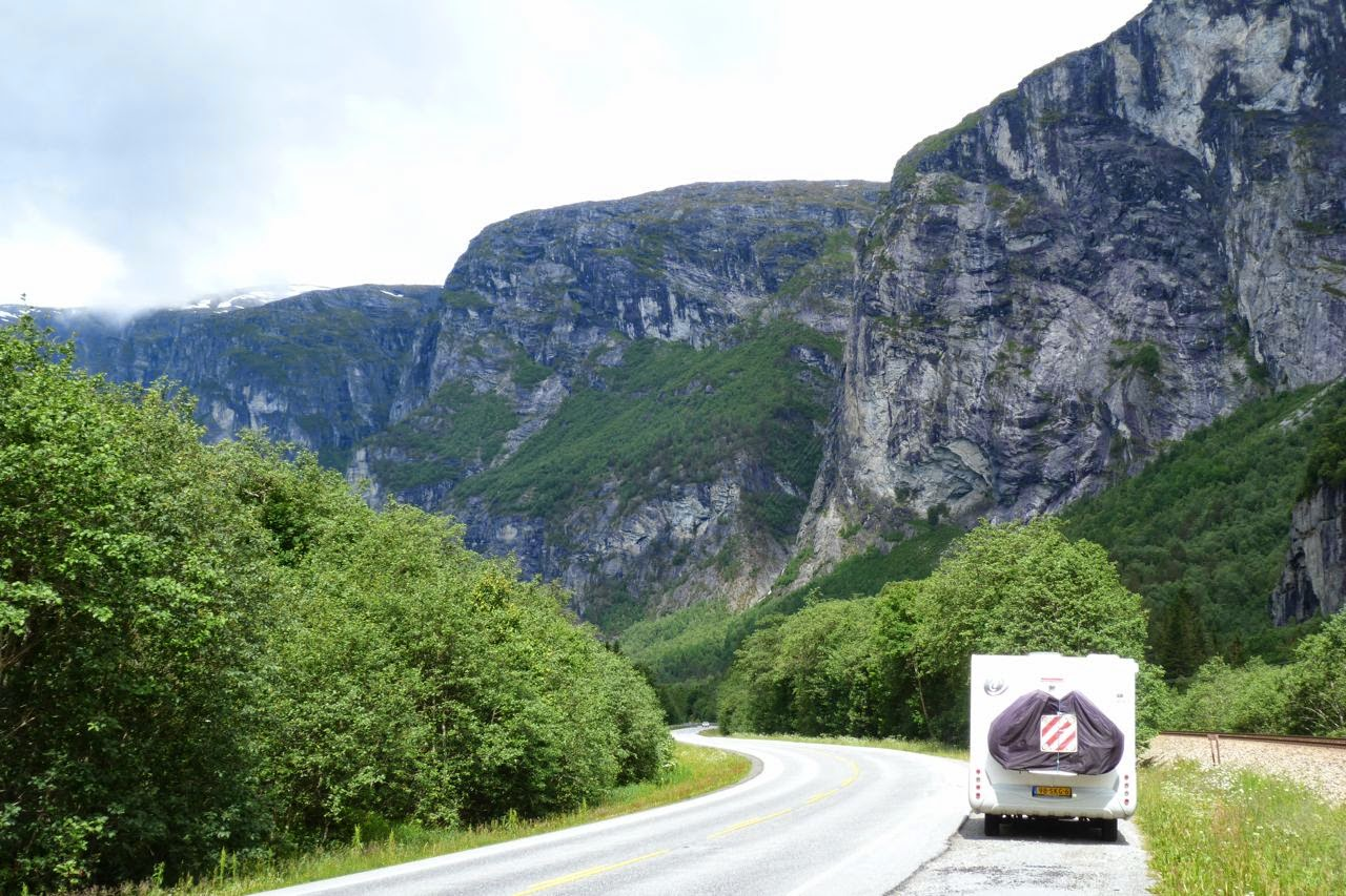 Met de camper door Noorwegen