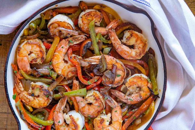 Shrimp Fajitas - 2